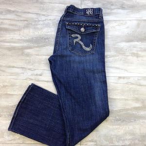 "Rock & Republic Flap Pocket Jeans 12 (inseam 28"")"